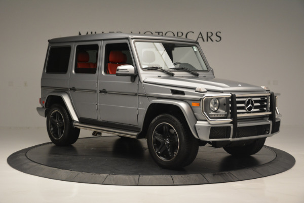 Used 2016 Mercedes-Benz G-Class G 550 for sale Sold at Rolls-Royce Motor Cars Greenwich in Greenwich CT 06830 10