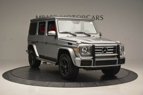 Used 2016 Mercedes-Benz G-Class G 550 for sale Sold at Rolls-Royce Motor Cars Greenwich in Greenwich CT 06830 11