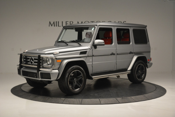 Used 2016 Mercedes-Benz G-Class G 550 for sale Sold at Rolls-Royce Motor Cars Greenwich in Greenwich CT 06830 2