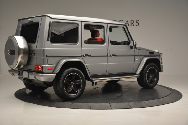 Used 2016 Mercedes-Benz G-Class G 550 for sale Sold at Rolls-Royce Motor Cars Greenwich in Greenwich CT 06830 8