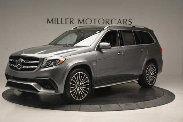 Used 2017 Mercedes-Benz GLS AMG GLS 63 for sale Sold at Rolls-Royce Motor Cars Greenwich in Greenwich CT 06830 2