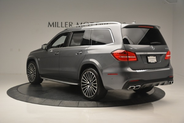Used 2017 Mercedes-Benz GLS AMG GLS 63 for sale Sold at Rolls-Royce Motor Cars Greenwich in Greenwich CT 06830 5