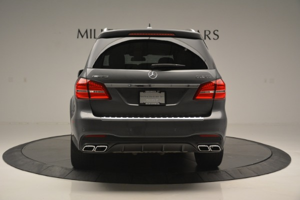 Used 2017 Mercedes-Benz GLS AMG GLS 63 for sale Sold at Rolls-Royce Motor Cars Greenwich in Greenwich CT 06830 7