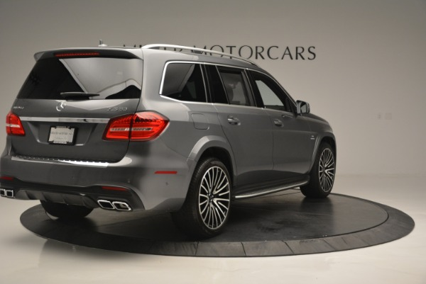 Used 2017 Mercedes-Benz GLS AMG GLS 63 for sale Sold at Rolls-Royce Motor Cars Greenwich in Greenwich CT 06830 8