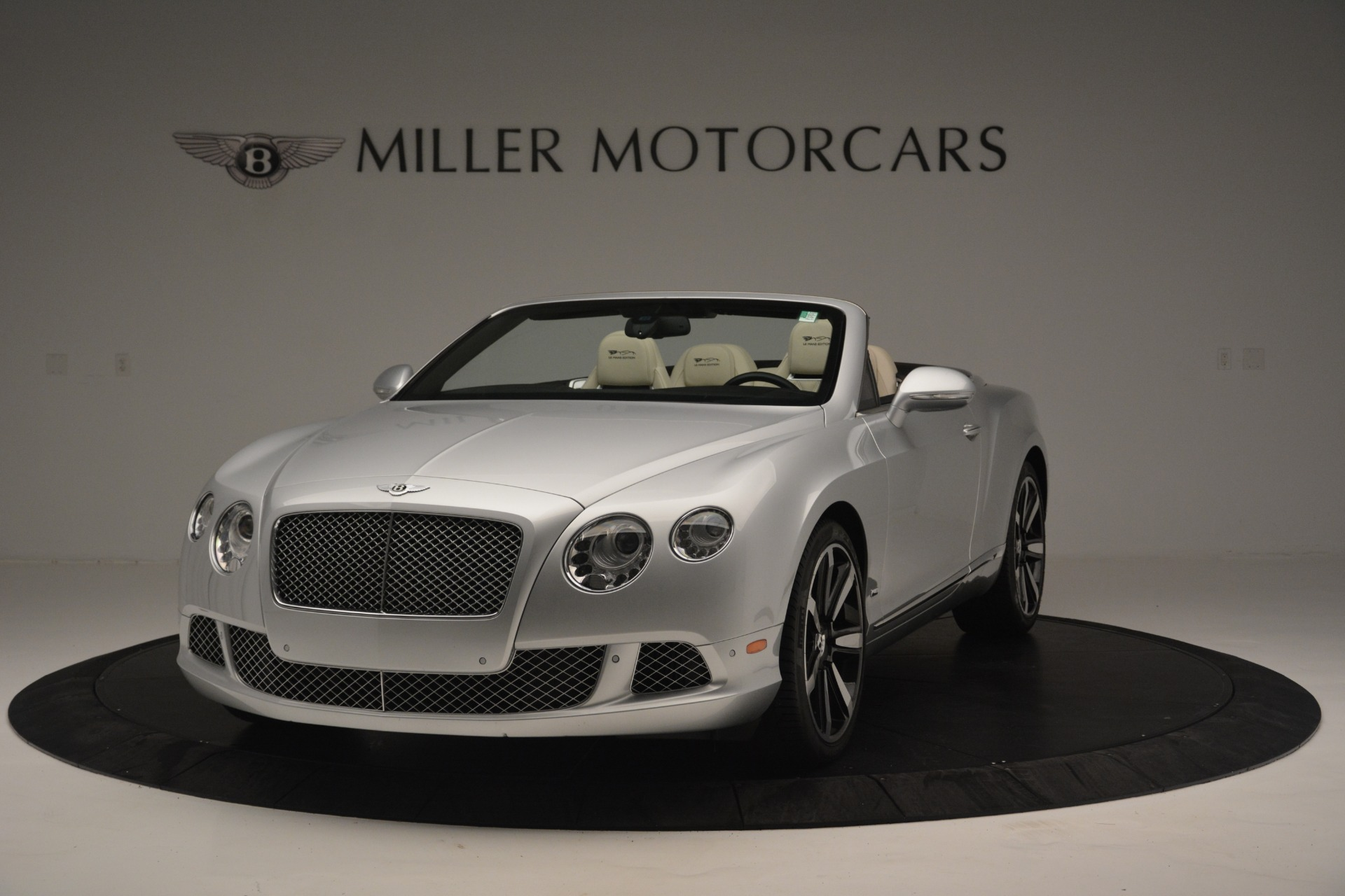 Used 2013 Bentley Continental GT W12 Le Mans Edition for sale Sold at Rolls-Royce Motor Cars Greenwich in Greenwich CT 06830 1