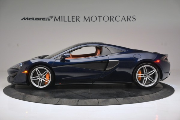 New 2019 McLaren 570S Spider Convertible for sale Sold at Rolls-Royce Motor Cars Greenwich in Greenwich CT 06830 16