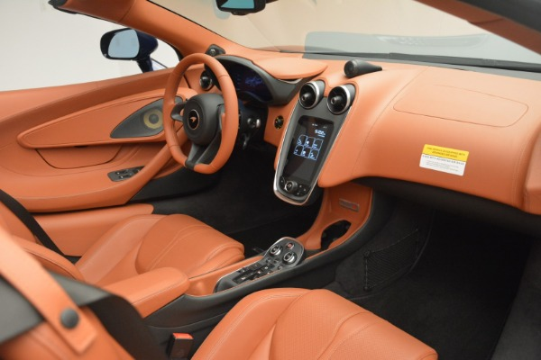 New 2019 McLaren 570S Spider Convertible for sale Sold at Rolls-Royce Motor Cars Greenwich in Greenwich CT 06830 26