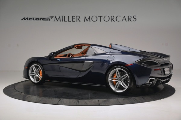 New 2019 McLaren 570S Spider Convertible for sale Sold at Rolls-Royce Motor Cars Greenwich in Greenwich CT 06830 4