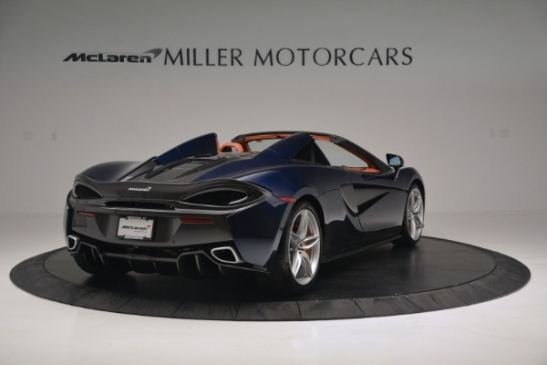 New 2019 McLaren 570S Spider Convertible for sale Sold at Rolls-Royce Motor Cars Greenwich in Greenwich CT 06830 7
