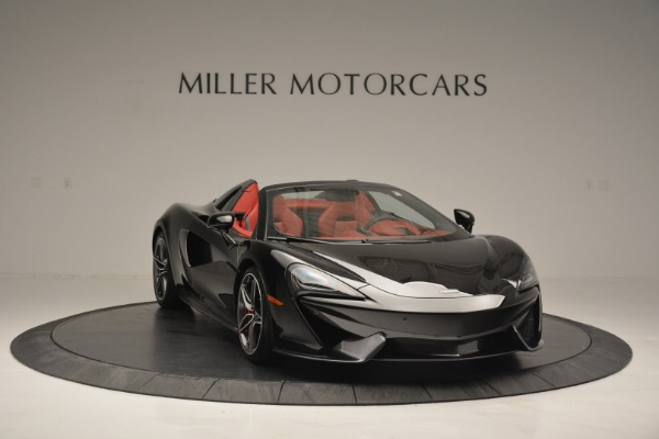 New 2019 McLaren 570S Convertible for sale Sold at Rolls-Royce Motor Cars Greenwich in Greenwich CT 06830 11