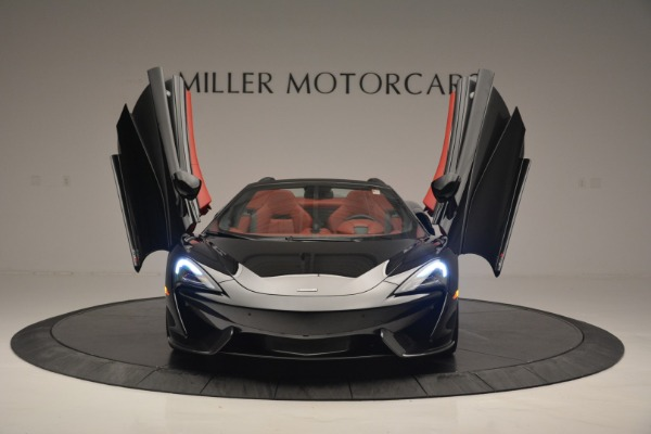 New 2019 McLaren 570S Convertible for sale Sold at Rolls-Royce Motor Cars Greenwich in Greenwich CT 06830 13