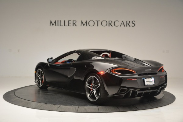 New 2019 McLaren 570S Convertible for sale Sold at Rolls-Royce Motor Cars Greenwich in Greenwich CT 06830 17
