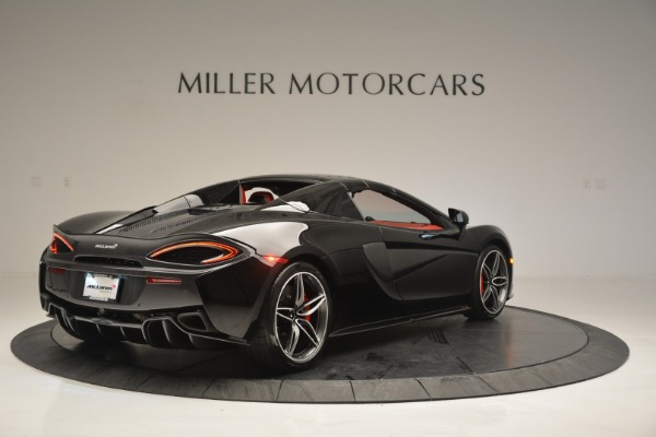 New 2019 McLaren 570S Convertible for sale Sold at Rolls-Royce Motor Cars Greenwich in Greenwich CT 06830 19