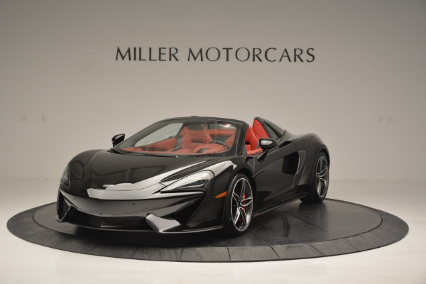 New 2019 McLaren 570S Convertible for sale Sold at Rolls-Royce Motor Cars Greenwich in Greenwich CT 06830 2