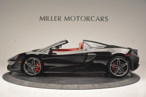 New 2019 McLaren 570S Convertible for sale Sold at Rolls-Royce Motor Cars Greenwich in Greenwich CT 06830 3
