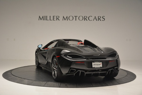 New 2019 McLaren 570S Convertible for sale Sold at Rolls-Royce Motor Cars Greenwich in Greenwich CT 06830 5