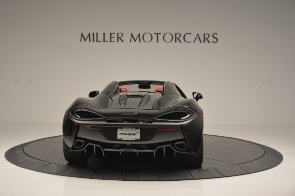 New 2019 McLaren 570S Convertible for sale Sold at Rolls-Royce Motor Cars Greenwich in Greenwich CT 06830 6