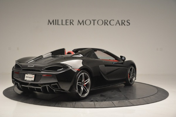 New 2019 McLaren 570S Convertible for sale Sold at Rolls-Royce Motor Cars Greenwich in Greenwich CT 06830 7