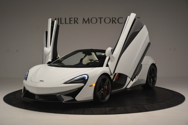 New 2019 McLaren 570S Spider Convertible for sale Sold at Rolls-Royce Motor Cars Greenwich in Greenwich CT 06830 14