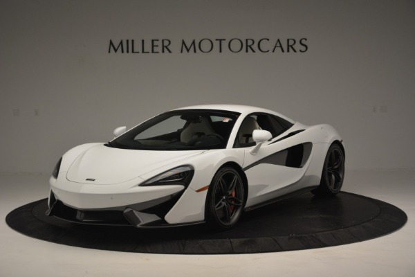 New 2019 McLaren 570S Spider Convertible for sale Sold at Rolls-Royce Motor Cars Greenwich in Greenwich CT 06830 15