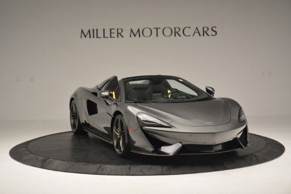 Used 2019 McLaren 570S Spider Convertible for sale $189,990 at Rolls-Royce Motor Cars Greenwich in Greenwich CT 06830 11
