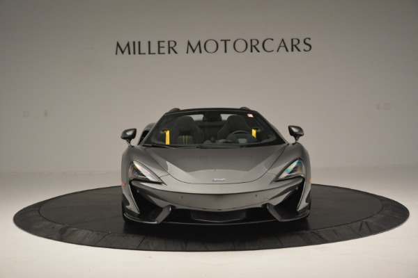 Used 2019 McLaren 570S Spider Convertible for sale $189,990 at Rolls-Royce Motor Cars Greenwich in Greenwich CT 06830 12