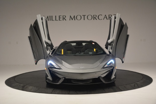 Used 2019 McLaren 570S Spider Convertible for sale $189,990 at Rolls-Royce Motor Cars Greenwich in Greenwich CT 06830 13