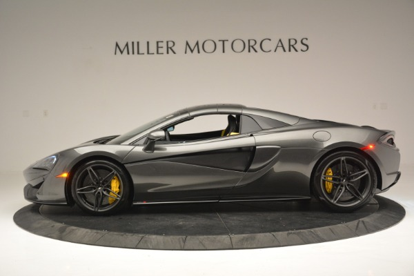 Used 2019 McLaren 570S Spider Convertible for sale $189,990 at Rolls-Royce Motor Cars Greenwich in Greenwich CT 06830 16