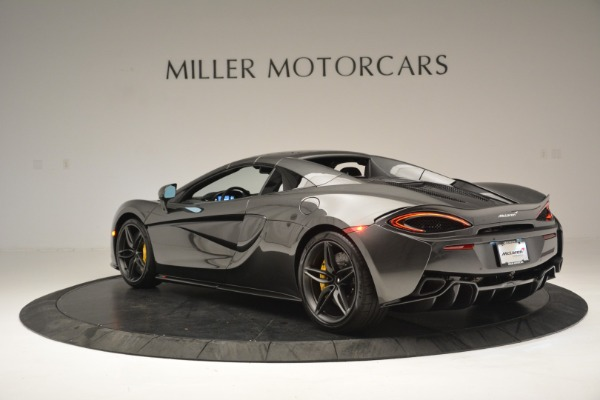 Used 2019 McLaren 570S Spider Convertible for sale $189,990 at Rolls-Royce Motor Cars Greenwich in Greenwich CT 06830 17