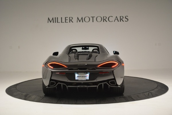 Used 2019 McLaren 570S Spider Convertible for sale $189,990 at Rolls-Royce Motor Cars Greenwich in Greenwich CT 06830 18