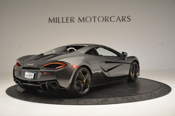 Used 2019 McLaren 570S Spider Convertible for sale $189,990 at Rolls-Royce Motor Cars Greenwich in Greenwich CT 06830 19