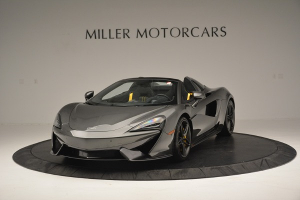 Used 2019 McLaren 570S Spider Convertible for sale $189,990 at Rolls-Royce Motor Cars Greenwich in Greenwich CT 06830 2