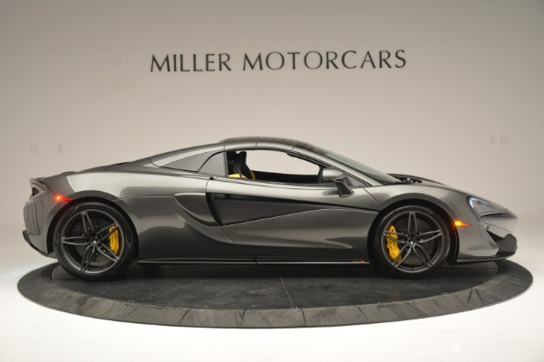 Used 2019 McLaren 570S Spider Convertible for sale $189,990 at Rolls-Royce Motor Cars Greenwich in Greenwich CT 06830 20