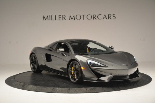 Used 2019 McLaren 570S Spider Convertible for sale $189,990 at Rolls-Royce Motor Cars Greenwich in Greenwich CT 06830 21