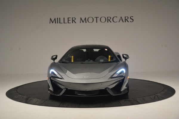 Used 2019 McLaren 570S Spider Convertible for sale $189,990 at Rolls-Royce Motor Cars Greenwich in Greenwich CT 06830 22