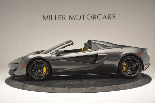 Used 2019 McLaren 570S Spider Convertible for sale $189,990 at Rolls-Royce Motor Cars Greenwich in Greenwich CT 06830 3