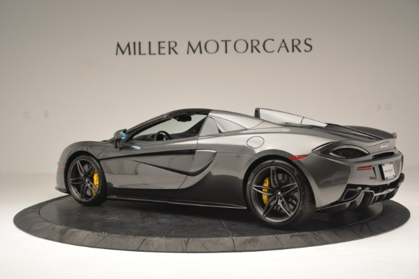 Used 2019 McLaren 570S Spider Convertible for sale $189,990 at Rolls-Royce Motor Cars Greenwich in Greenwich CT 06830 4