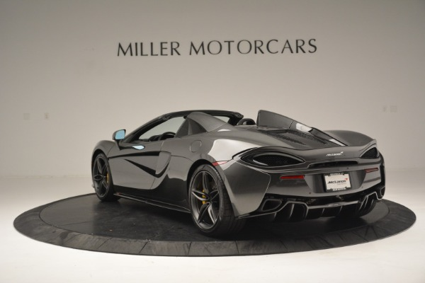 Used 2019 McLaren 570S Spider Convertible for sale $189,990 at Rolls-Royce Motor Cars Greenwich in Greenwich CT 06830 5
