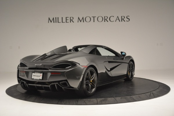 Used 2019 McLaren 570S Spider Convertible for sale $189,990 at Rolls-Royce Motor Cars Greenwich in Greenwich CT 06830 7