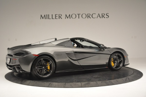 Used 2019 McLaren 570S Spider Convertible for sale $189,990 at Rolls-Royce Motor Cars Greenwich in Greenwich CT 06830 8