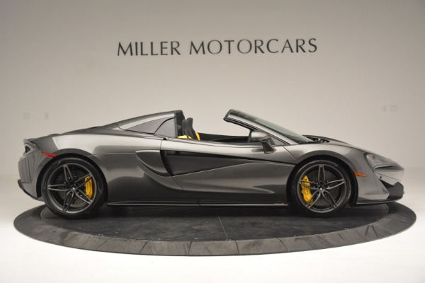 Used 2019 McLaren 570S Spider Convertible for sale $189,990 at Rolls-Royce Motor Cars Greenwich in Greenwich CT 06830 9
