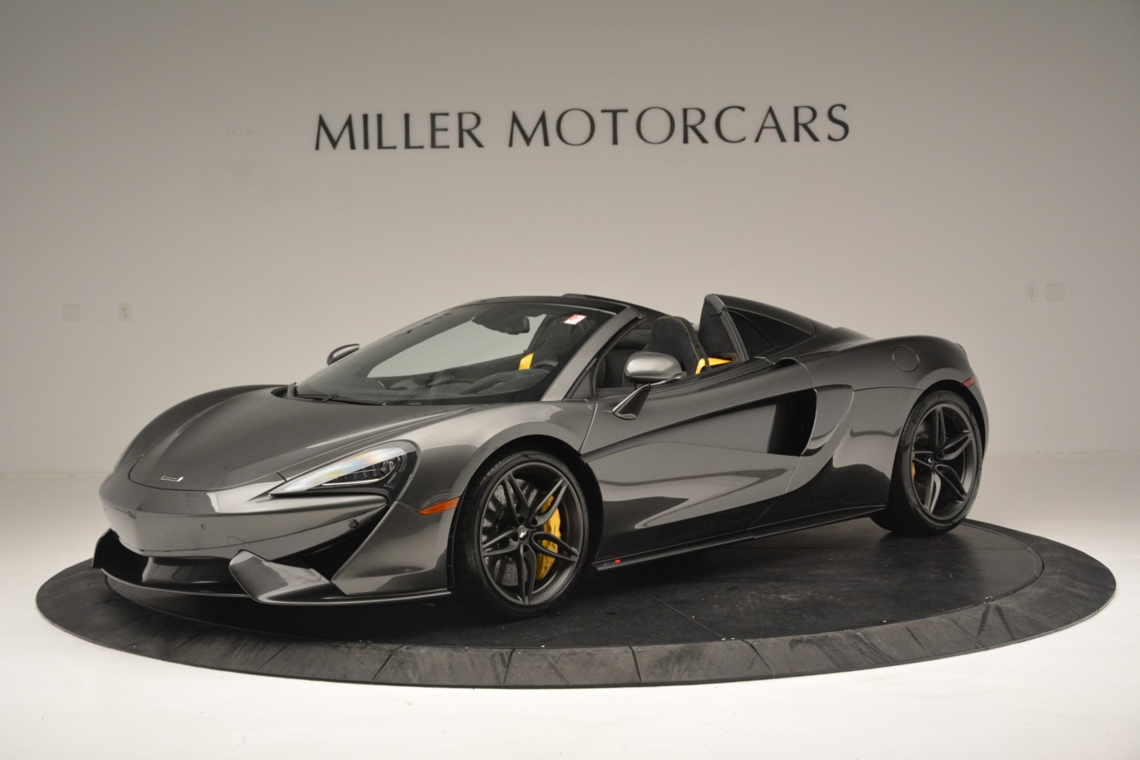 Used 2019 McLaren 570S Spider Convertible for sale $189,990 at Rolls-Royce Motor Cars Greenwich in Greenwich CT 06830 1