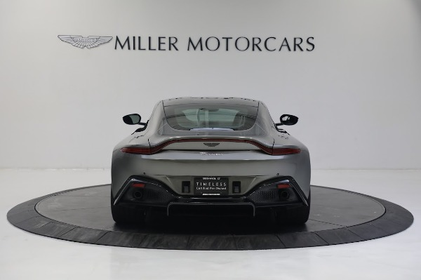 New 2019 Aston Martin Vantage V8 for sale Sold at Rolls-Royce Motor Cars Greenwich in Greenwich CT 06830 5