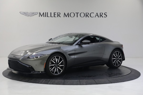 New 2019 Aston Martin Vantage V8 for sale Sold at Rolls-Royce Motor Cars Greenwich in Greenwich CT 06830 1