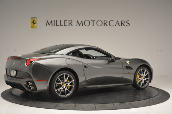 Used 2013 Ferrari California 30 for sale $109,900 at Rolls-Royce Motor Cars Greenwich in Greenwich CT 06830 20