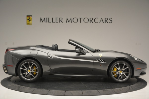 Used 2013 Ferrari California 30 for sale $109,900 at Rolls-Royce Motor Cars Greenwich in Greenwich CT 06830 9