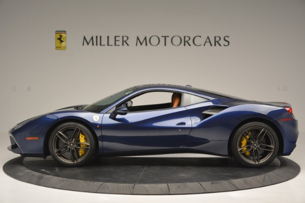 Used 2018 Ferrari 488 GTB for sale Sold at Rolls-Royce Motor Cars Greenwich in Greenwich CT 06830 3