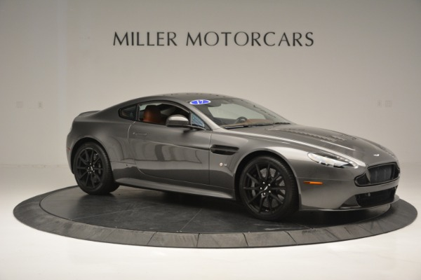 Used 2017 Aston Martin V12 Vantage S for sale Sold at Rolls-Royce Motor Cars Greenwich in Greenwich CT 06830 10