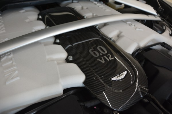 Used 2017 Aston Martin V12 Vantage S for sale Sold at Rolls-Royce Motor Cars Greenwich in Greenwich CT 06830 25