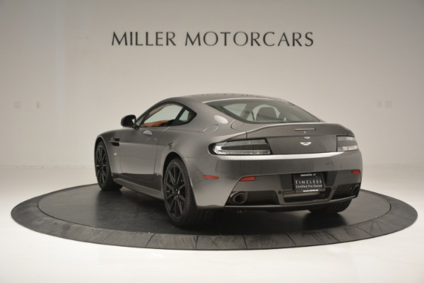 Used 2017 Aston Martin V12 Vantage S for sale Sold at Rolls-Royce Motor Cars Greenwich in Greenwich CT 06830 5